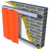 упрощенная подсистема для вентилируемых фасадов